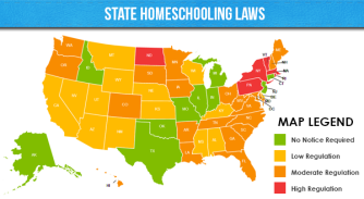 State-Homeschooling-Laws-Map